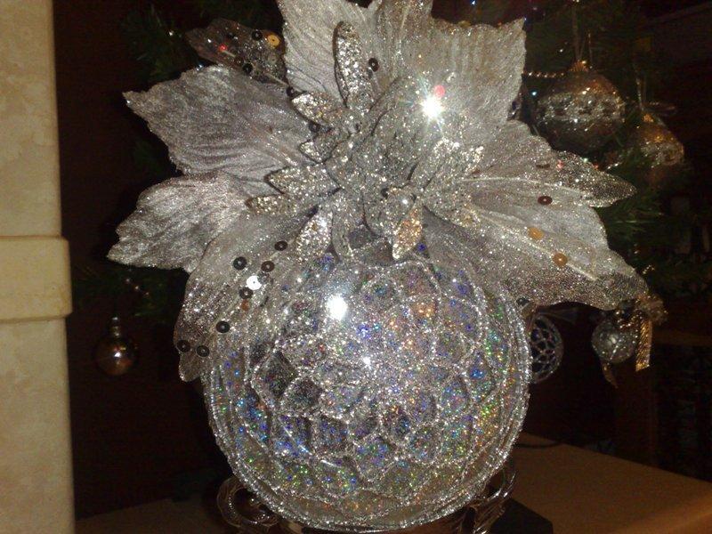 Sfera Natalizia Alluncinetto Feste Natale Di Irene