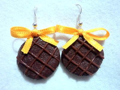 Orecchini a Forma di Biscotti III