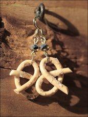 orecchini Brezel - idea Regalo -