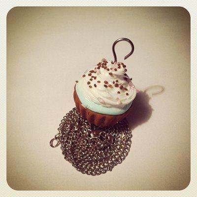 collana cupcake glassato