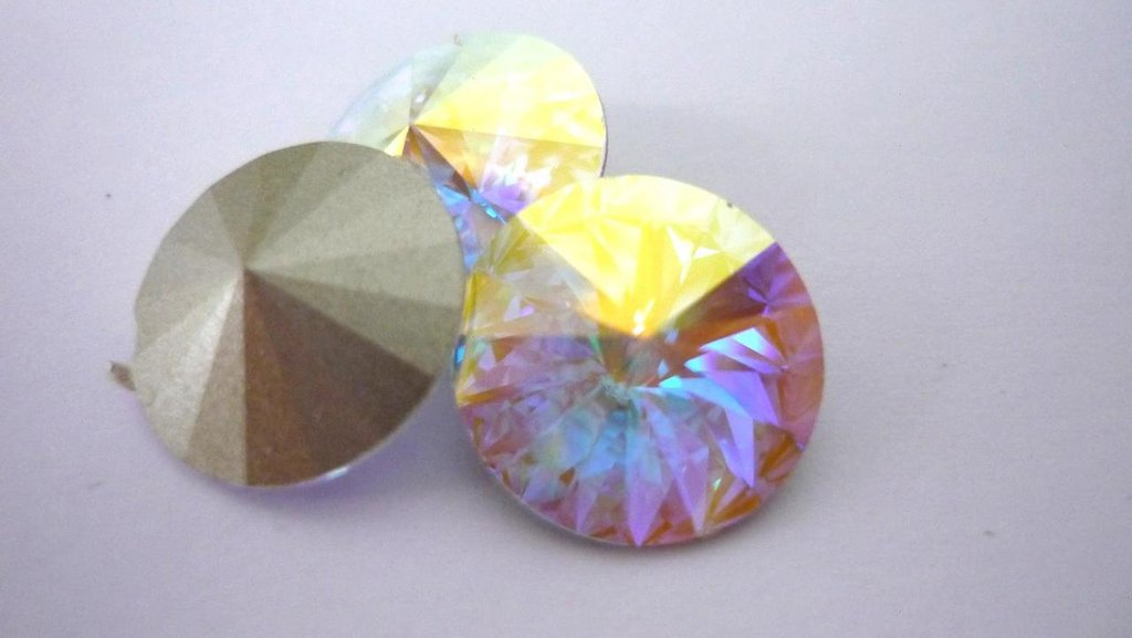 Swarovski® Rivoli 14 mm  Crystal AB