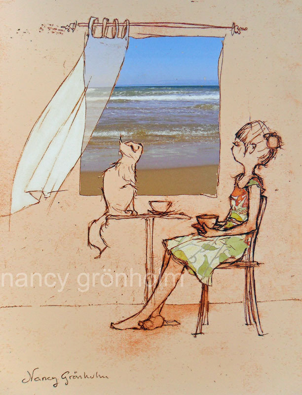 Weekends By The Sea - reproduction