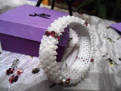 bracciale capricho bianco viola