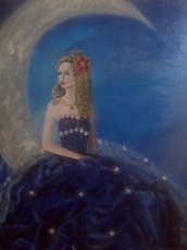 "Quadro fantasy ""The Queen"""