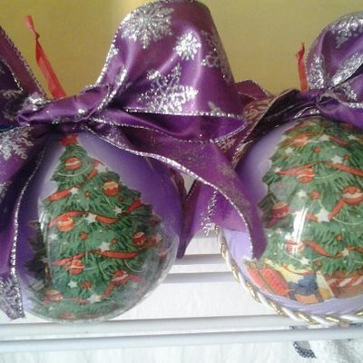 sfere natalizie diam.12 cm