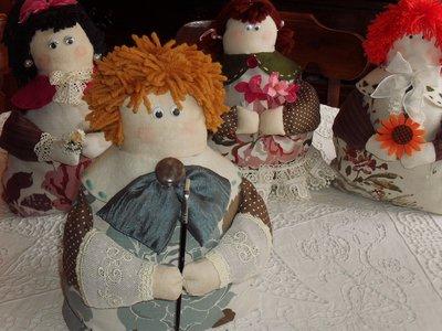 Fermaporta o pupazzo-decorazione - Vincent