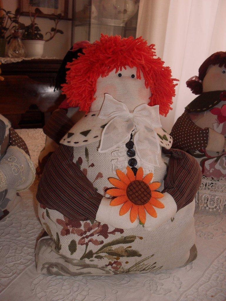 Fermaporta o pupazzo-decorazione - Andrea