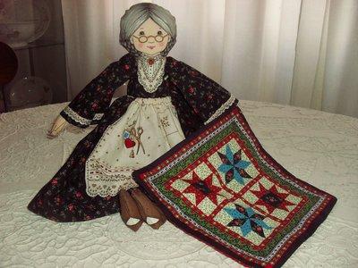Bambola di stoffa o decorazione