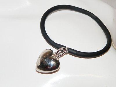 braccialetto in caucciù colorato