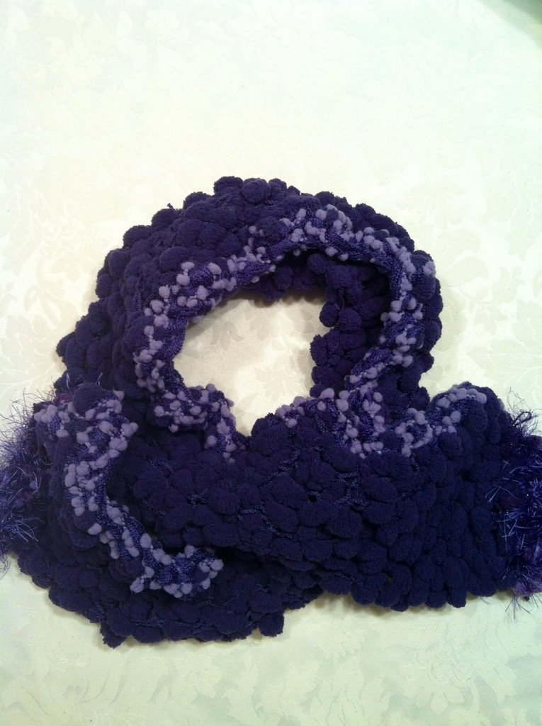 Sciarpa viola