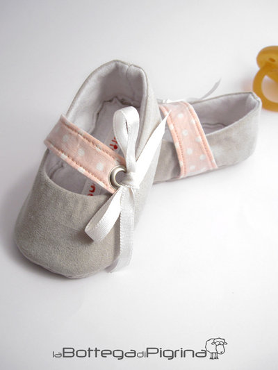 Ballerine per neonata con Fiocco