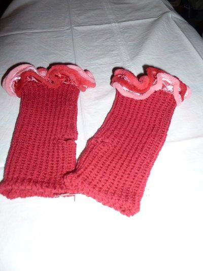 guanti lana fatti ai ferri