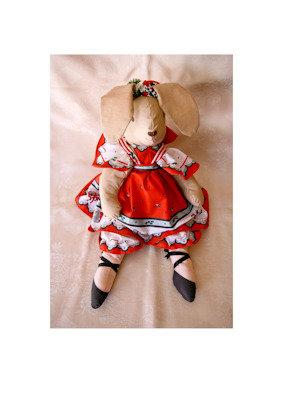 Coniglio giocattolo o decorazione