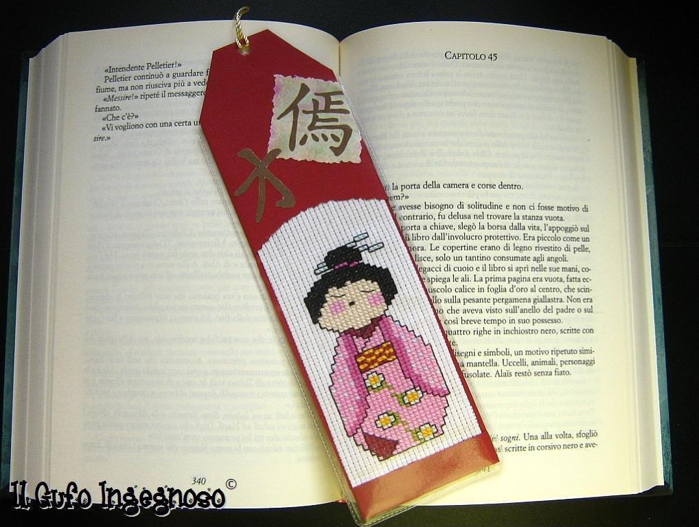 "Segnalibro ""Bambolina giapponese"" #1"