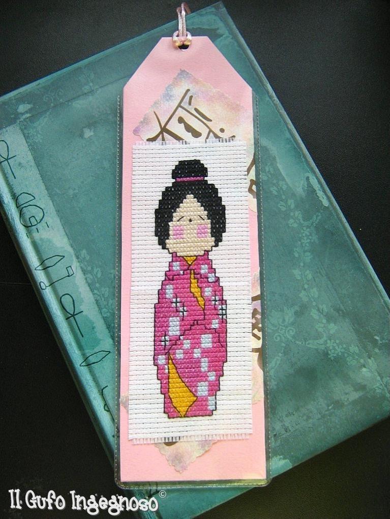 "Segnalibro ""Bambolina giapponese"" #2"