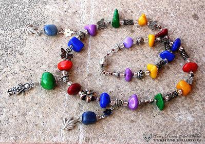 Hippy necklace Collana Hippi