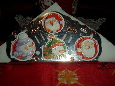 portatovaglioli natalizio