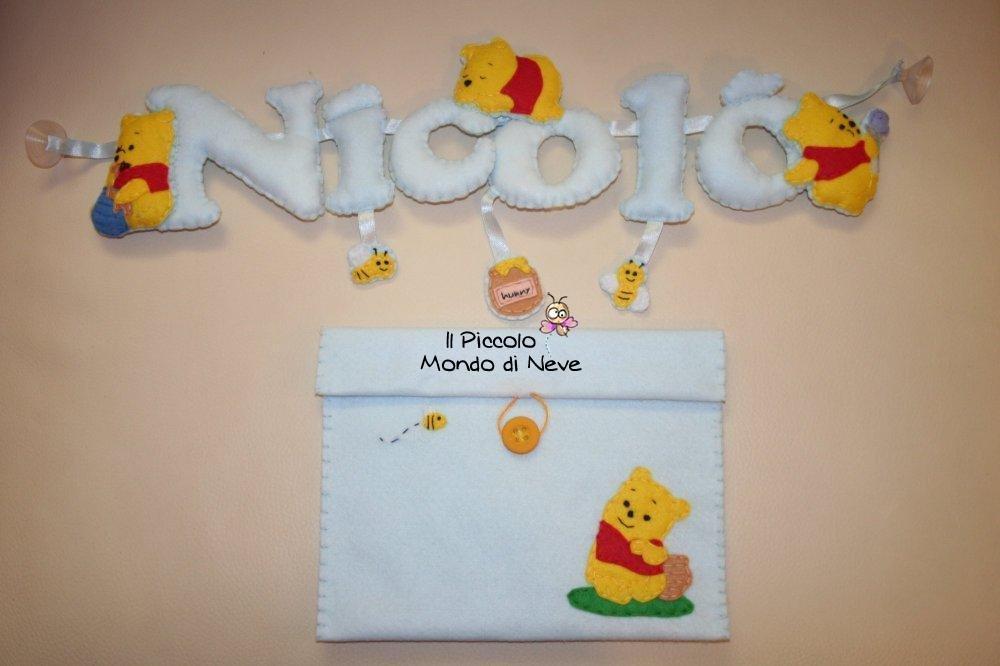 Nome/Fuoriporta per cameretta (6 lettere)