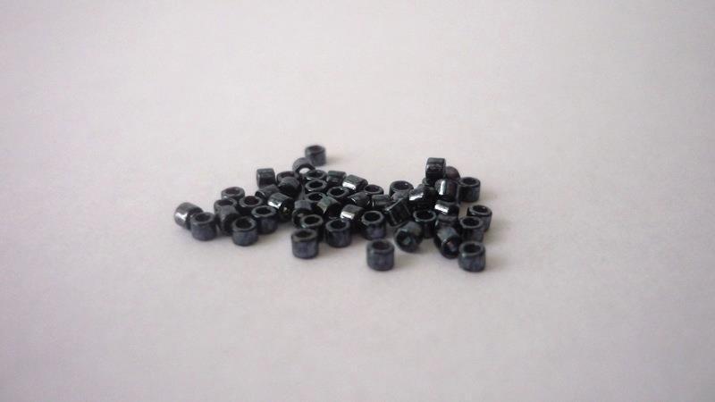 Miyuki® Delica 11/0  Metallic Gunmetal
