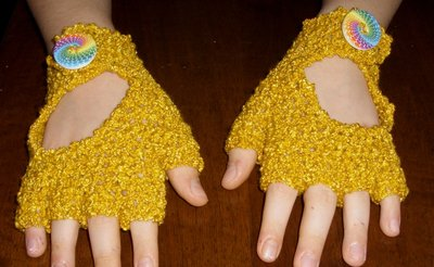 Guanti senza dita mezzi guanti donna uncinetto
