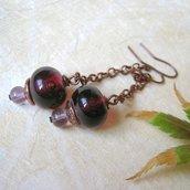 Perle a lume orecchini