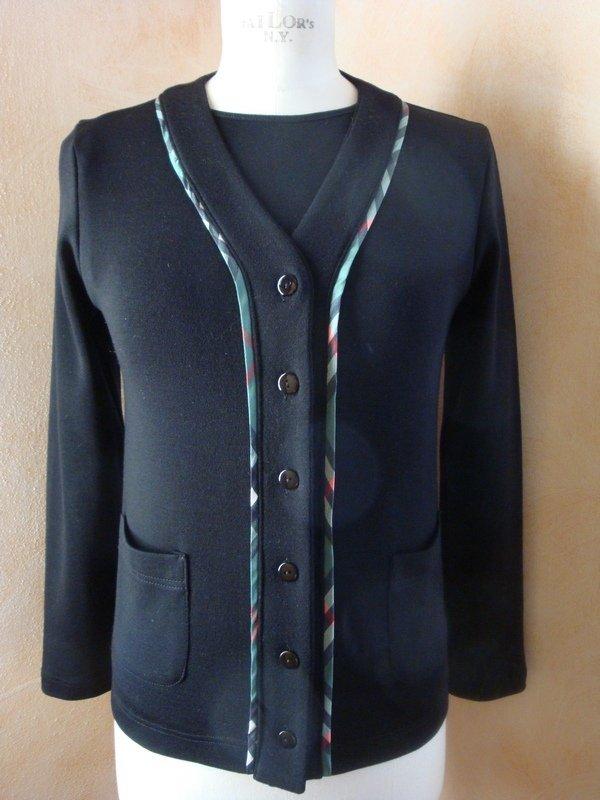 Twin-Set-Maglia tg. 42  jersey di lana colore nero