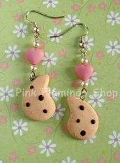 Gocciole orecchini pendenti in Fimo kawaii