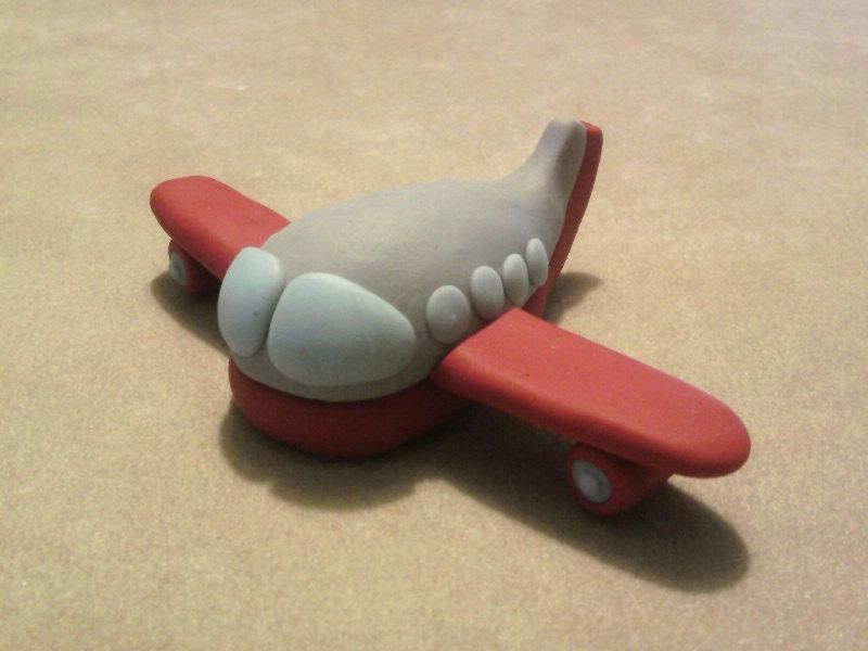 Aeroplanino fimo
