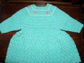 Vestito abito bimba bambina taglia 6 mesi