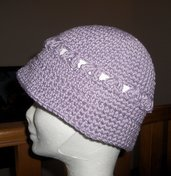 Cappello berretto cotone bambina bimba