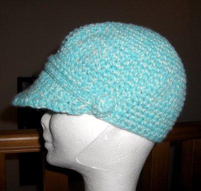 Cappello berretto con visiera bambina
