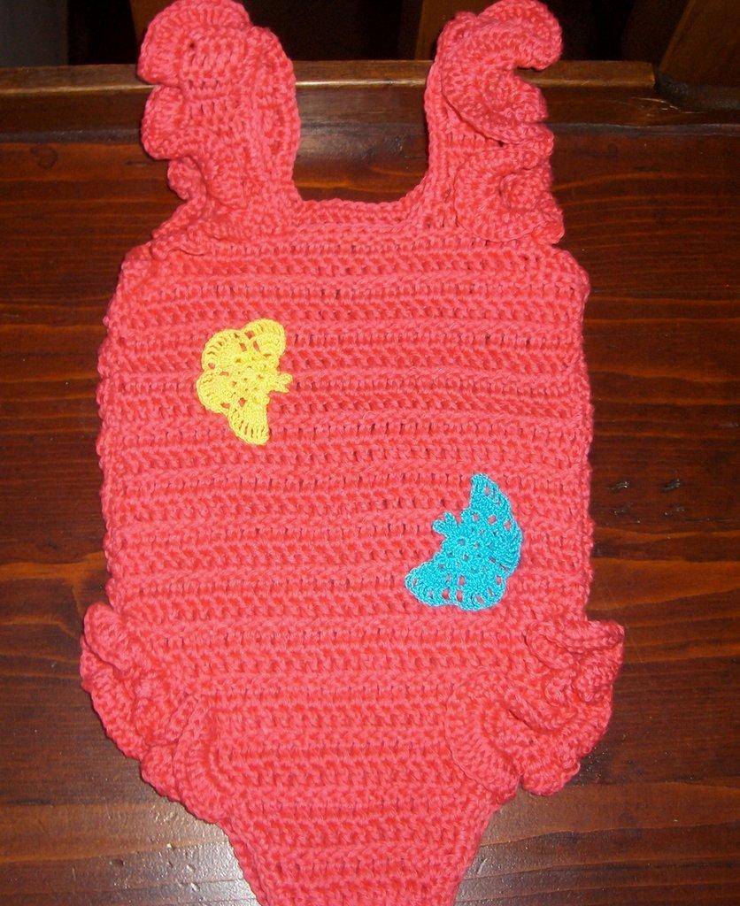 Body costumino  bambina neonata taglia  3-6 mesi