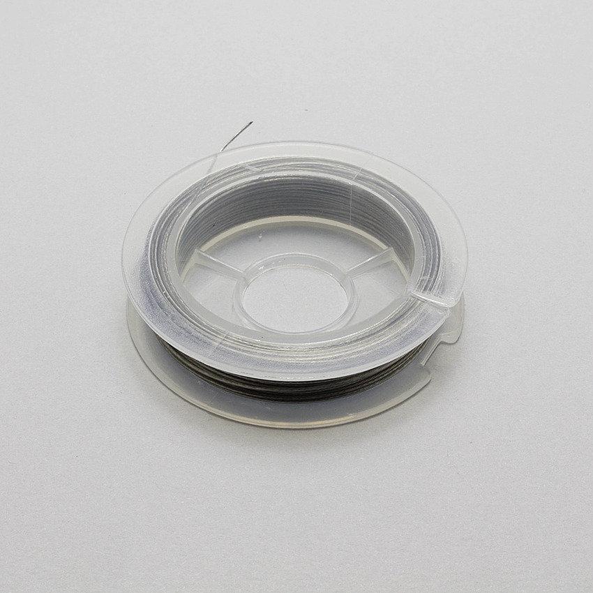 10m di cavetto in acciaio rivestito nylon
