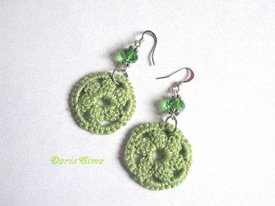 orecchini verde speranza