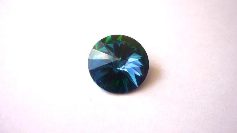 Swarovski® Rivoli 14 mm  Green Sphinx
