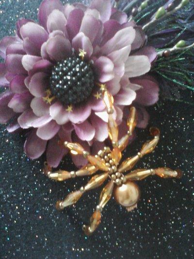 The Swarovski Crystal Accent Spider!!