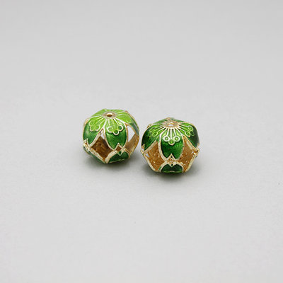 2 perle - charm smaltate