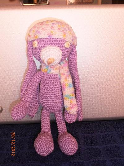 Amigurumi Miss Bunny Lilla dolce coniglietta.