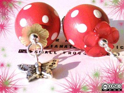 """orecchini """"butterfly"""""""