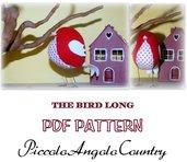 "PATTERN ""THE BIRD LONG"""