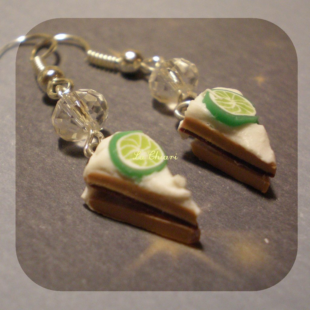 LIME#1 earrings
