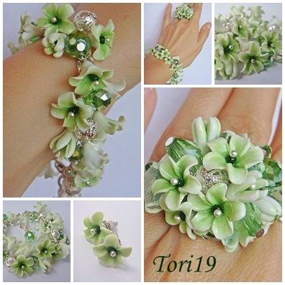 fiori e perline
