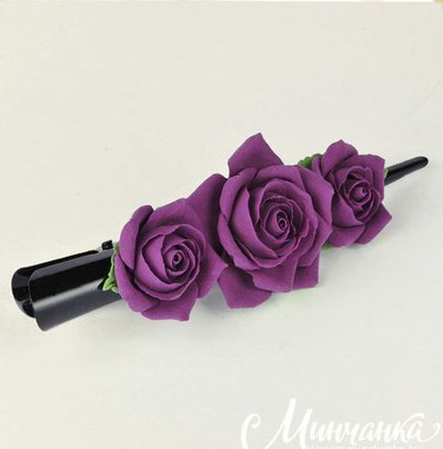 Clip Rose il colore delle prugne