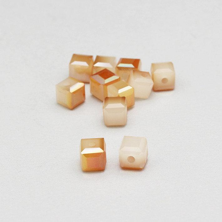 5 cristalli - cubo bicolore