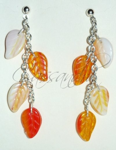 Pendientes Autumn Leaves