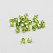 20 cristalli bicono verde