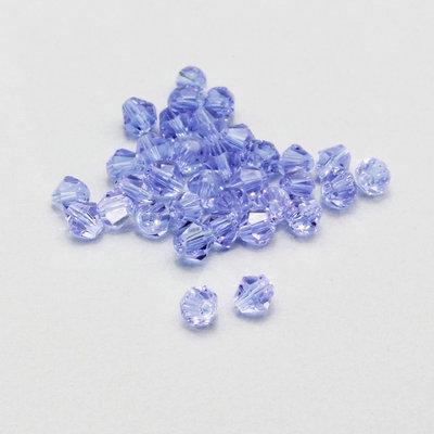 20 cristalli bicono color violetto