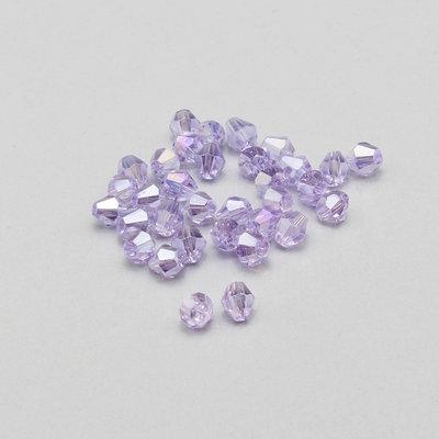 20 cristalli bicono color ametista