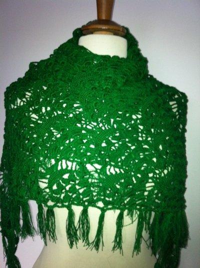 Verde Triangolare Scialle.