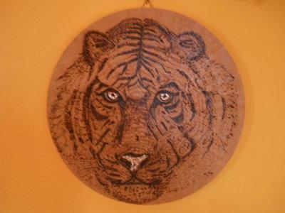 Quadretto tigre